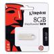 Флэш-диск 8 GB, KINGSTON Data Traveler SE9, USB 2.0, металлический корпус, серебристый