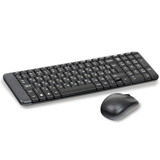����� ������������ LOGITECH Wireless Desktop MK220, ����������, ���� 2 ������ + 1 ������-������, ������