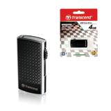 Флэш-диск 4 GB, TRANSCEND Jet Flash 560, USB 2.0, черный
