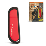 ����-���� TRANSCEND 16 GB JetFlash V70, USB 2.0, �������� ������/<wbr/>������ — 18/<wbr/>8 ��/<wbr/>���., �������