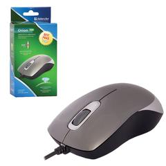 Мышь проводная DEFENDER Orion MM-300, USB, 2 кнопки + 1 колесо-кнопка, оптическая, серая
