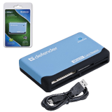 ��������� DEFENDER ULTRA, USB 2.0, ����� SD, MMC, TF, M2, CF, XD, MS
