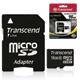 ����� ������ micro SDHC 16 GB TRANSCEND, �������� �������� ������ 10 ��/<wbr/>���. (class 10), � ���������