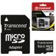 ����� ������ micro SDHC 8 GB TRANSCEND, �������� �������� ������ 10 ��/<wbr/>���. (class 10), � ���������