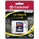 ����� ������ SDXC 64 GB TRANSCEND, �������� �������� ������ 16 ��/<wbr/>���. (class 10)
