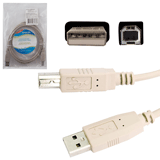 Кабель USB 2.0 AM-BM DEFENDER USB04-06, 1,8 м, пакет