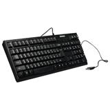 Клавиатура проводная SONNEN KB-300B, USB, черная