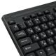 Клавиатура проводная SONNEN KB-310, USB, черная
