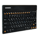Клавиатура беспроводная SONNEN KB-B100 для планшетных компьютеров, bluetooth, черная