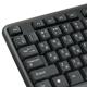 Клавиатура проводная SONNEN KB-100B, PS/<wbr/>2, 104 кнопки, черная