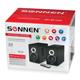 ������� ������������ bluetooth SONNEN SP-BT100, 2×15 W, 2.0, ������, ������������, ������, USB, SD