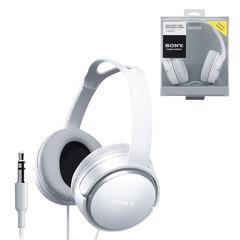 Наушники SONY MDR-XD150, проводные, Hi-Fi, 2 м, стерео, полноразмерные c оголовьем, с амбушюрами, белые