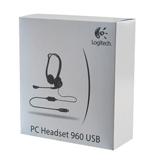 ��������� LOGITECH PC 960, ���������, ������������, 2,4 �, ������, USB, ������