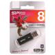 ����-���� SILICON POWER 8 GB ultima II-I Series, USB 2.0, �������� ������/<wbr/>������ — 10/<wbr/>5 ��/<wbr/>���., ������