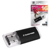 ����-���� SILICON POWER 16 GB ultima II-I Series, USB 2.0, �������� ������/<wbr/>������ — 10/<wbr/>5 ��/<wbr/>���., ������