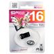 Флэш-диск 16 GB, SILICON POWER Touch Т01, USB 2.0, черный
