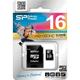 ����� ������ micro SDHC 16 GB SILICON POWER, �������� �������� ������ 10 ��/<wbr/>���. (class 10), � ���������