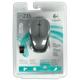 Мышь беспроводная оптическая LOGITECH M235, USB, 2 кнопки + 1 колесо-кнопка, цвет черный/<wbr/>серый