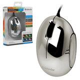 Мышь проводная оптическая DEFENDER Rainbow MS-770L Chrome, USB, 2 кнопки + 1 колесо-кнопка, принт