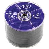 Диски DVD-RW, VS, 4,7 Gb, 4x 50 шт., Bulk