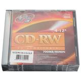 ����� CD-RW VS, 700 Mb, 4-12x, Slim Case, �������� 5 ��.