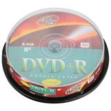 ����� DVD+R VS, 8,5 Gb, 8x, 10 ��., Cake Box, �����������