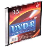 ���� DVD-R VS, 4,7 Gb, 16x, Slim Case