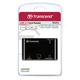 Картридер TRANSCEND TS-RDP8K, USB 2.0, порты SD, SDHC, SDXC, microSD, microSDHC, черный