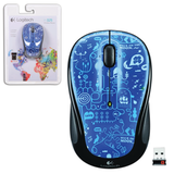 ���� ������������ ���������� LOGITECH M325 Blue smile, USB, 2 ������ + 1 ������-������
