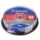 ����� BD-R (Blu-ray) VERBATIM, 25Gb, 2x, 10��., Cake Box