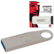 Флэш-диск 16 GB, KINGSTON DataTraveler SE9 G2, USB 3.0, серебристый