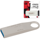 ����-���� KINGSTON, 64 Gb, DataTraveler SE9 G2, USB 3.0, �������� ������/<wbr/>������ — 100/<wbr/>15 ��/<wbr/>���