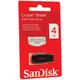 ����-���� SANDISK, 4 Gb, Cruzer Blade USB 2.0, �������� ������/<wbr/>������ — 15/<wbr/>10, ������