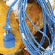 Удлинитель на рамке POWER CUBE морозостойкий, 1 розетка без заземления, 20 м, 2×0,75 мм, 1300 Вт