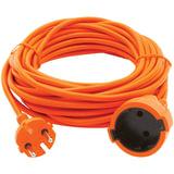 Удлинитель в бухте POWER CUBE, 1 розетка без заземления, 10 м, 2×0,75 мм, 1300 Вт, оранжевый