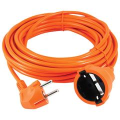 Удлинитель в бухте POWER CUBE, 1 розетка с заземлением, 30 м, 3×0,75 мм, 1300 Вт, оранжевый