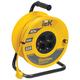 Удлинитель на катушке IEK (ИЕК) INDUSTRIAL, ГОСТ Р51539, 4 розетки, 40 м, 3×1 мм, 2200 Вт, с заземлением