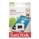 ����� ������ micro SDHC, 16 GB, SANDISK Ultra, �������� �������� ������ 30 ��/<wbr/>���. (class 10)