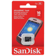 ����� ������ micro SDHC, 16 GB, SANDISK, �������� �������� ������ 4 ��/<wbr/>���. (class 4)