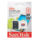 ����� ������ micro SDHC, 8 GB, SANDISK Ultra Android, �������� �������� ������ 48 ��/<wbr/>���. (class 10), � ���������