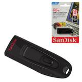 Флэш-диск 16 GB, SANDISK Ultra, USB 3.0, черный