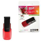 Флэш-диск SILICON POWER, 16 GB, U31, USB 2.0, скорость чтения/<wbr/>записи — 22/<wbr/>13 Мб/<wbr/>сек., красный