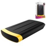 Диск жесткий внешний SILICON POWER A65, 1 TB, USB 3.0, ударостойкий, черный/<wbr/>желтый