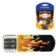 Флэш-диск 8 GB, VERBATIM Mini Elements Edition Fire, USB 2.0, черный с рисунком