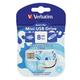 ����-���� VERBATIM, 8 GB, Mini Elements Edition Water, USB 2.0, �������� ������/<wbr/>������ — 8/<wbr/>2,5 ��/<wbr/>���.