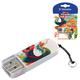 Флэш-диск 8 GB, VERBATIM Mini Tattoo Edition Phoenix, USB 2.0, белый с рисунком