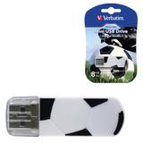 ����-���� VERBATIM, 8 GB, Mini Graffiti Edition Football, USB 2.0