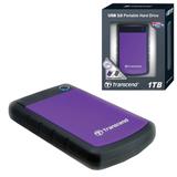 """���� ������� ������� TRANSCEND, 1 Tb, 2,5"""", USB 3.0, �������, ����������"""