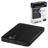 """Диск жесткий внешний WESTERN DIGITAL My Passport Ultra 1 Tb, 2.5"""", USB 3.0, черный"""