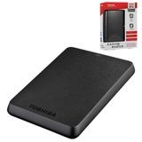 """Диск жесткий внешний TOSHIBA Canvio Basics, 500 Gb, 2,5"""", USB 3.0, черный"""